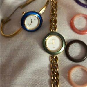 Vintage Gucci Bezel watches